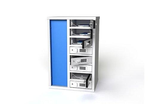 Zioxi Laadkast voor smartphones met 10 vakken
