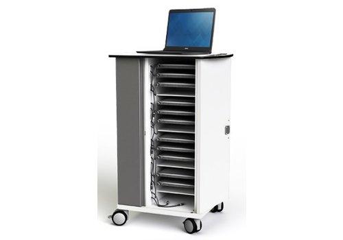 """Zioxi oplaadkast met wielen voor 20 Macbook Chromebook Laptop Tablet tot 14"""""""