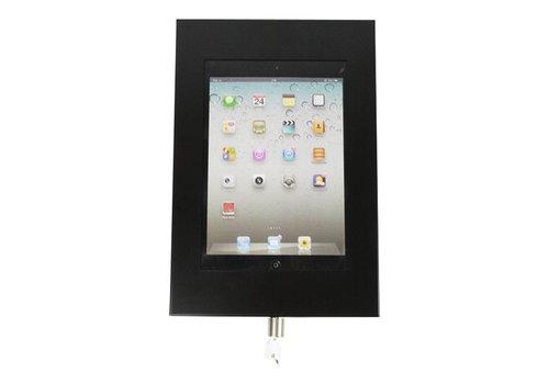 "Muurhouder zwart plat tegen wandmontage iPad 9.7 & 10.5-inch Securo 9-11"" tablets"