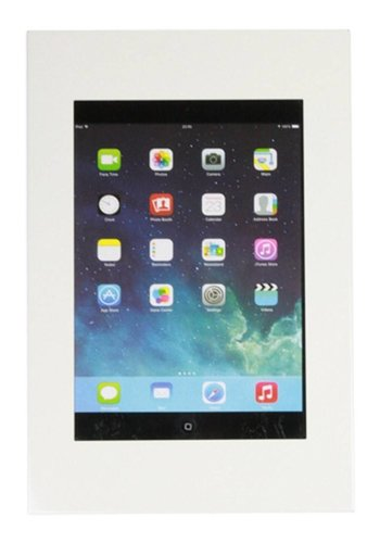 "Muurhouder wit, plat tegen wandmontage iPad 9.7 & 10.5-inch; Securo 9-11"" tablets"