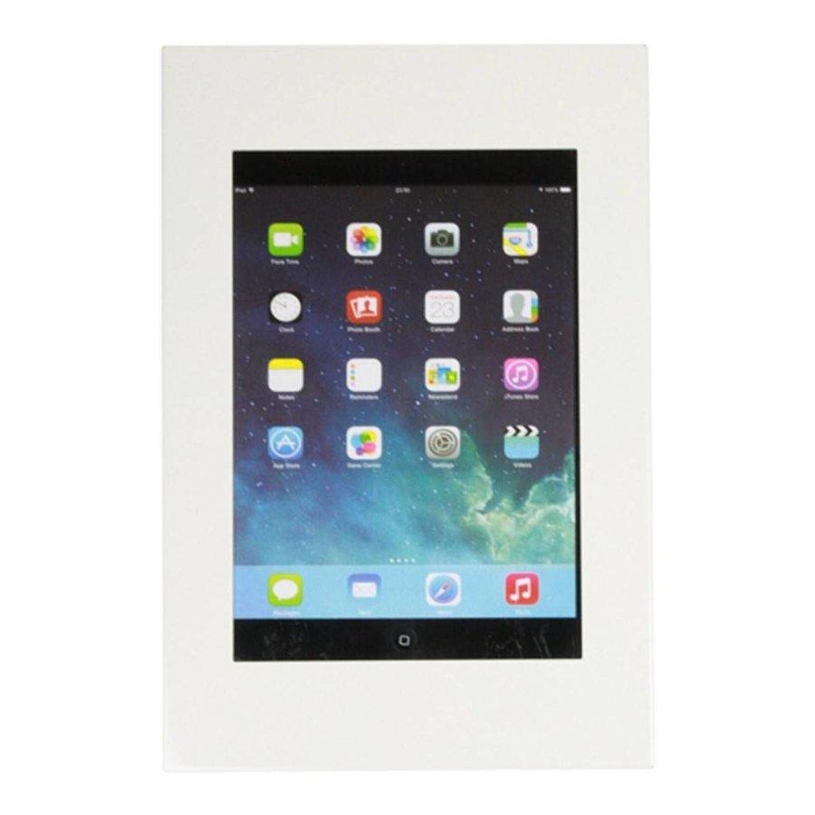 iPad 9.7/10.5 wandhouder wit, plat tegen wandmontage, voor Air, iPad 2017 en Pro 10,5-inch; Securo 9-11 inch tablets