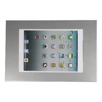 iPad 9.7/10.5 wandhouder zilvergrijs, plat tegen wandmontage, voor Air, iPad 2017 en Pro 10,5-inch; Securo 9-11 inch tablets