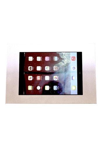 "Muurhouder RVS/staal, plat tegen wandmontage iPad 9.7 & 10.5-inch; Securo 9-11"" tablets"
