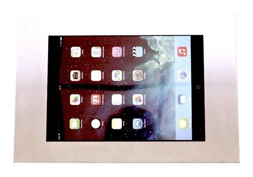 "Muurhouder RVS stalen voet plat tegen wandmontage iPad 9.7 & 10.5-inch Securo 9-11"" tablets"