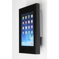 iPad mini wandhouder, vlak tegen muur montage; Securo 7 tot 8 inch tablets, zwart