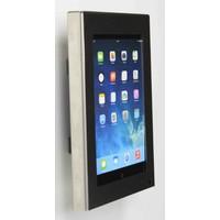 iPad mini wandhouder, vlak tegen muur montage; Securo 7 tot 8 inch tablets, RVS/staal