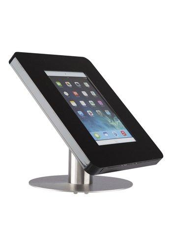 "Tafelstandaard zwart/RVS iPad Pro 9.7/Air Meglio 9-11"" tablets"