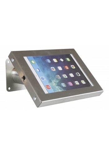 "Tablethouder RVS/staal, wand-,tafelmontage iPad Mini; Securo 7-8"" tablets"
