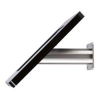 Wandhouder/Tafelstandaard Meglio wit of zwart, acrylaat 9-11 inch cassette