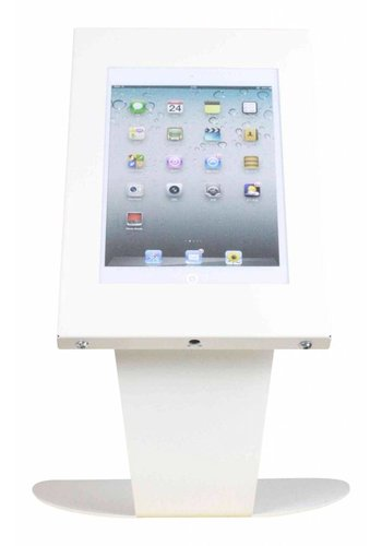 "Tafelstandaard iPad Mini Kiosk 7""-8"" tablets wit"