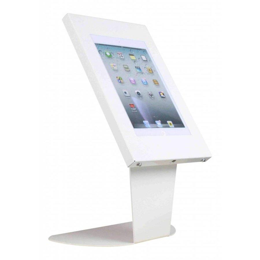 Tafelstandaard, wit, voor Apple Mini, Kiosk, 7 en 8 inch tablets