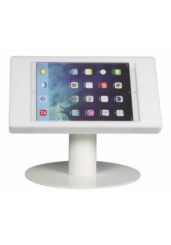 Tafelstandaard iPad 2017/Pro 9.7/ Air; Fino in wit acrylaat met witte voet