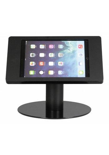 Tafelstandaard iPad 2017/ Pro 9.7/ Air; Fino in zwart acrylaat met zwarte voet