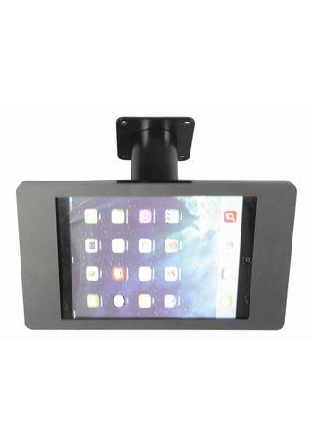 Tablethouder wand-,tafelmontage iPad Mini; Fino in zwart acrylaat met zwarte voet