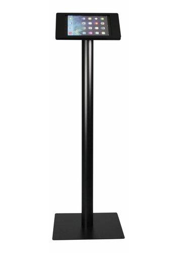 Rgo Vloerstandaard zwart, iPad Mini; Fino in zwart, acrylaat met zwarte voet