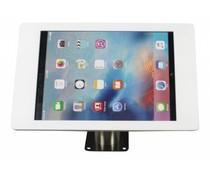 Rgo Tablethouder wit/RVS, wand-,tafelmontage iPad Pro 12.9; Fino in wit, acrylaat met geborsteld stalen voet