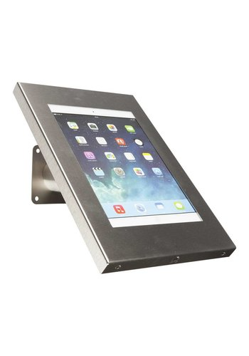 "Tablethouder RVS stalen voet wand-,tafelmontage iPad 9.7 & 10.5-inch Securo 9-11"" tablets"