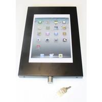 Slot voor snel en eenvoudig openen en afsluiten iPad houder van de ERGO serie Securo