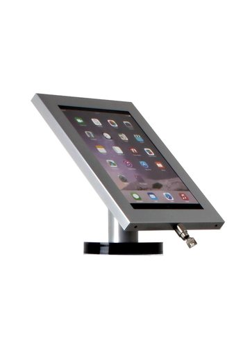 "Tablethouder RVS stalen voet wand- tafelmontage 12.9-inch iPad Pro Securo 12-13"" tablets"