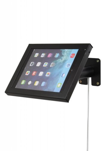 """Rgo Tafelstandaard/ wandhouder zwart, iPad Air; en Pro 9.7, 9-10"""" tablets. Prezzo [budget]"""