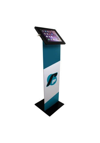 "Vloerstandaard display iPad 12.9"" Securo 12-13"" tablets zwart"