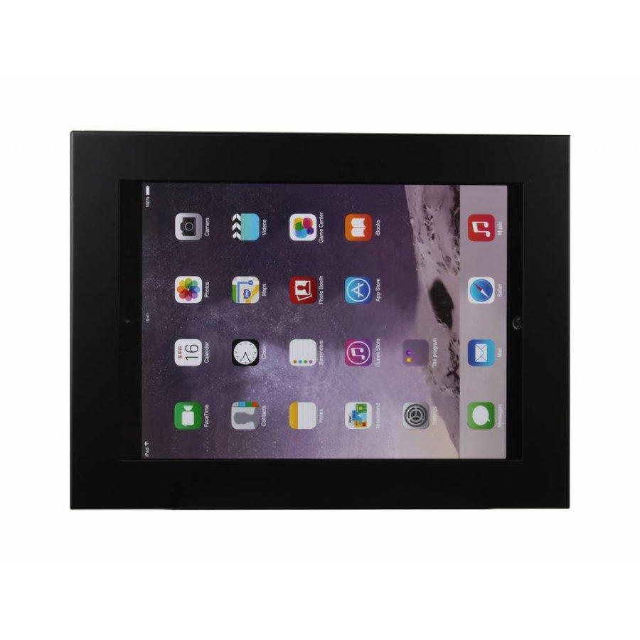 iPad 12,9 inch wandhouder, vlak tegen muur montage; Securo 12-13 inch, wit