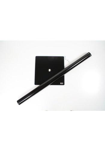 onderdeel voor vloerstandaard; voetplaat 0,35m vierkant voor iPad vloerstandaard