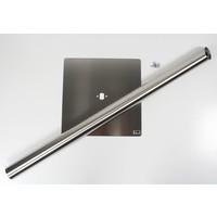 stabiele vierkante voetplaat voor iPad-tablet vloerstandaard