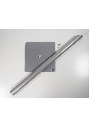 onderdeel voor vloerstandaard; buis 1,05m voor iPad Vloerstandaard