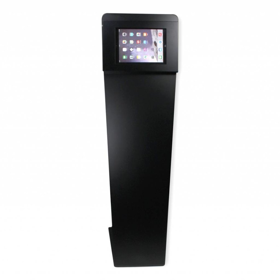 Vloerstandaard, voor Apple Pro 9.7/ iPad Air; Kiosk, zwart, 9 tot 11 inch tablets