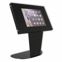 Tafelstandaard voor Apple Pro 9.7/ Air; Kiosk zwart voor 9 tot 11 inch tablets