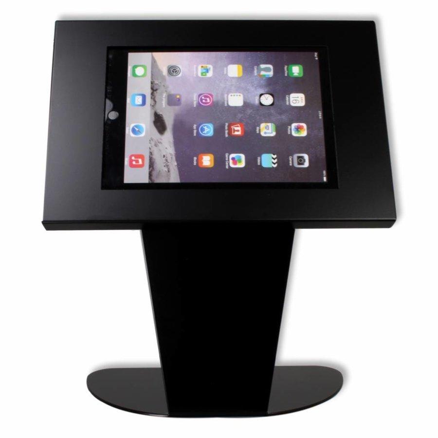 Tafelstandaard voor Apple Pro 12,9; Kiosk zwart voor 12 tot 13 inch tablets