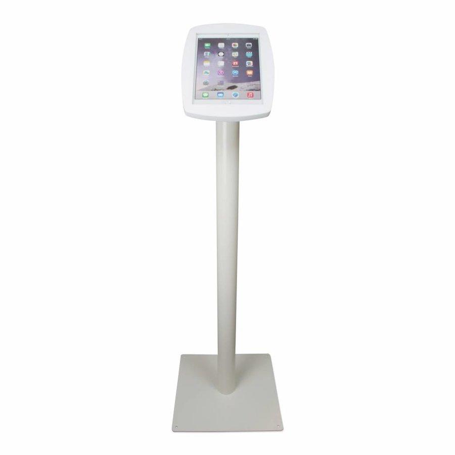 iPad 2017, iPad Air, Air 2/ iPad Pro 9.7-inch, stijlvolle stabiele vloerstandaard Lusso, inclusief slot, wit