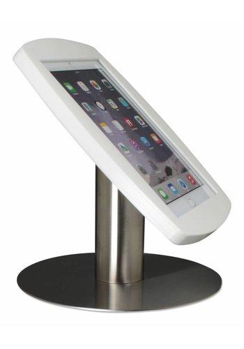 Tafelstandaard voor iPad 2017, iPad Air, iPad Pro 9.7-inch, Lusso, wit/RVS