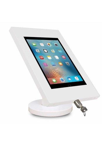 """Tablethouder vast wit, tafelmontage iPad 9.7 & 10.5-inch; Securo 9-11"""" tablets"""