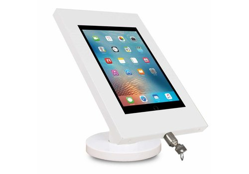 "Tablethouder vast wit tafelmontage iPad 9.7 & 10.5-inch Securo 9-11"" tablets"