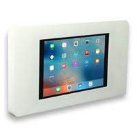 Tablethouder voor Apple iPad/Air, Piatto iPad 9.7, wit, vlak tegen muur montage