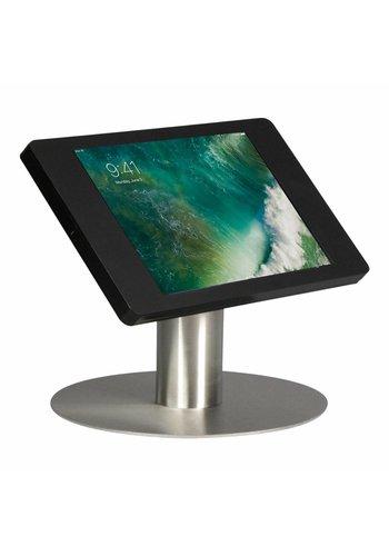 """Tafelstandaard iPad 10.5"""" Fino zwart met RVS stalen voet"""