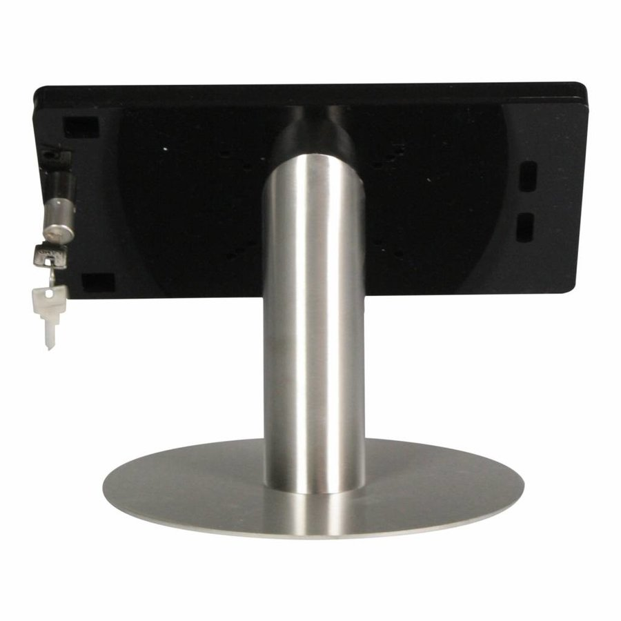 10.5-inch Pro iPadhouder, Fino, zwart-rvs, tafestandaardl, inclusief slot