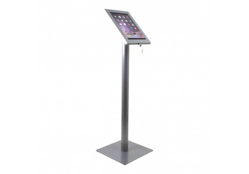 "Vloerstandaard iPad 12.9"" Securo 12-13"" tablets RVS grijs"