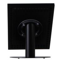 iPad 12.9 tafelstandaard zwart voor iPad Pro 12.9; Securo voor 12 tot 13 inch tablets; diefstalbestendige behuizing en voet van zwart gecoat staal