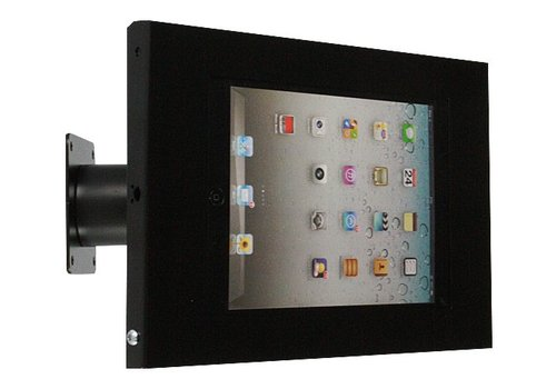 "Tablethouder wand-tafelmontage iPad Mini Securo 7-8"" tablets zwart"