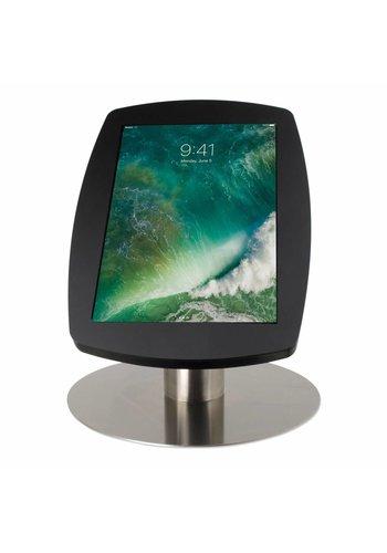 """Tafelstandaard iPad 10.5"""" Lusso zwart met RVS stalen voet"""