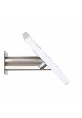 "Tablethouder wand-tafelmontage iPad 10.5"" Fino wit met RVS stalen voet"