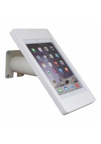 Tablethouder wand-,tafelmontage iPad 2017/Pro 9.7/Air; Fino in wit acrylaat met witte voet