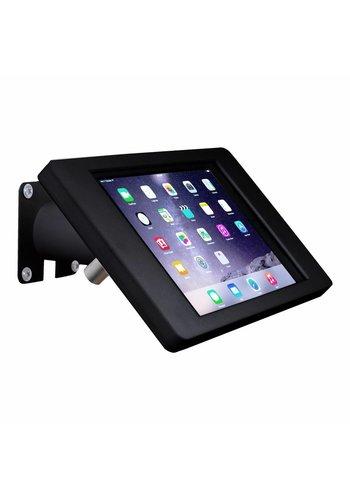 Tablethouder wand-,tafelmontage iPad Pro 9.7/Air; Fino in zwart kunststof met zwarte stalen voet