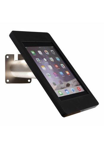 Tablethouder wand-,tafelmontage iPad Pro 9.7/Air; Fino in zwart acrylaat met RVS/staal voet