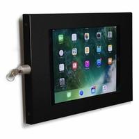 iPad 10,5 inch wandhouder voor Apple Pro 10,5 vlak tegen muur montage, Securo 10-11 inch, zwart
