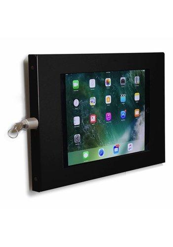 "Muurhouder zwart, plat tegen wandmontage 10.5-inch iPad Pro; Securo 10-11"""