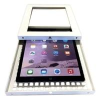 iPad Pro 10.5-inch, stabiele tafelstandaard, Securo, afsluitbaar, grijs
